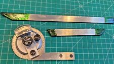 Mitutoyo 187 906 Universal Bevel Protractor 12 Blade Vernier Calibrated
