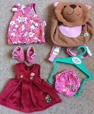 Baby Born Zapf Creations Clothes Bundle Bag Shoes