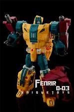 New Unique Toys Transformers UT O-03 Ordin Fenrir Abominus Sinnertwin In Stock