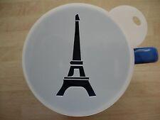 LASER CUT Torre Eiffel Design Caffè e Craft Stencil