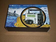 New MIDLAND XT511 Base Camp 2-Way Radio W/ Emergency Crank Power