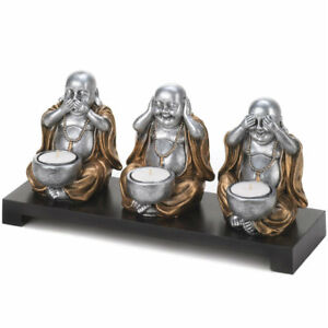 Resin Buddha Candle Holders Accessories For Sale In Stock Ebay