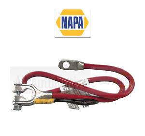 """Battery Cable Red (Positive) NAPA 4ga 25"""" with 6"""" Lead"""