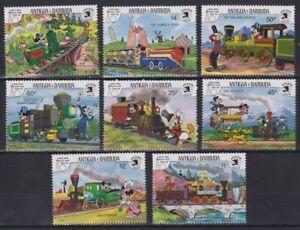 Z465. Antigua & Barbuda - MNH - Cartoons - Disney's - Trains