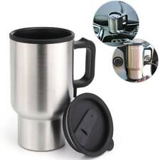 12V In-Car Thermos Thermal Heated Travel Mug Cup Plug Heater Camping Coffee ^-^