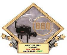 Bbq Cook Out Cooking Contest Plaque Trophy Award Free Engraving Mrdp04