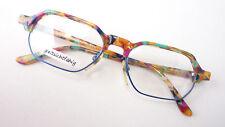 Sunglasses Frame Socket Angular Unisex Multicolored Funky Occhiali Size L