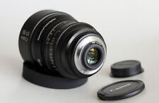 Customized Canon EF-S 17-55mm f2.8 for EF mount Blackmagic ursa Canon 6D 7D