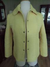 Trendfarbe Gelb Jacke Steppjacke Longjacke Taschen Gr.38  Neuwertig