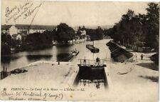 CPA Verdun - La Canal et la Meuse - L'Ecluse (240974)