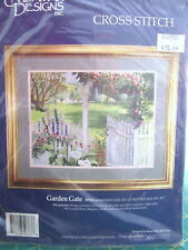 "Candamar Designs Cross Stitch Kit ""Candamar DesignGarden Gate"" #50763, 16"" x 12"""