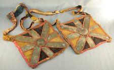 ! Antique African YORUBA Nigeria APO IFA Divination Sash Bags Babalawo Diviner