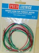 Peco PL-34. Wiring Loom for Turnout/Point Motor. NEW  (Model Railways)