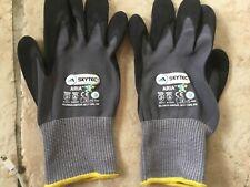 18 Pairs Skytec Aria Nitrile Foam Palm Coated Gloves Size 9 Large