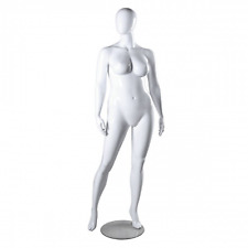 Only Hangers Plus Size Female Mannequin- White