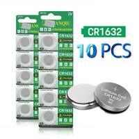 10 x Eunicell CR1632 DL1632 L1632 Li Coin Button Battery Batteries