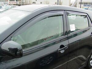 Toyota Matrix 2009 - 2014 Tape-On Wind Deflector Vent Visor Shades 4pc