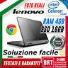 "PC NOTEBOOK LENOVO THINKPAD YOGA 11e 11.6"" CPU CELERON 4GB RAM SSD 16GB +WIN 10!"