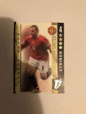Wayne Rooney Shootout Card 2004/05