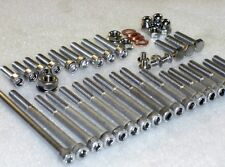 Honda CRF50, XR50, CT70, ZR50  Engine & Cylinder 46pc Stainless Allen Bolt Kit