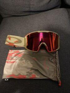 Oakley Line Miner Sammy Carlson Ski Snowboard Goggles