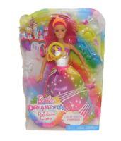 Mattel Barbie Regenbogenlicht Prinzessin DPP90 mit Licht- und Sound-Effekten Neu
