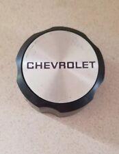 """1988-1990 OEM Chevrolet Cavalier Black 13"""" Wheel Center Cap 22535248"""