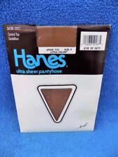 HANES vintage Ultra Sheer Pantyhose style 710 LITTLE COLOR size F Control Top