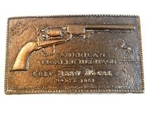 Vintage Colt Navy 36 Caliber Model 1851 Belt Buckle