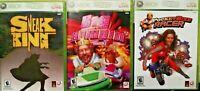 3 Burger King Xbox 360 Games: Sneak King, Big Bumpin' & Pocket Bike Racer!