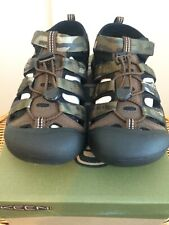 NEW Keen Newport H2 Youth Boys US Size 4 Bottomlands Camo Sandal Hiking Casual