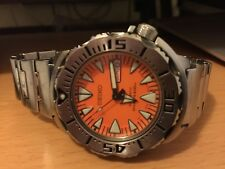 Seiko SRP309 Orange Monster- 2nd Generation- used, not abused, a soulful one!
