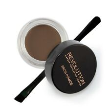 Makeup Revolution Brow Pomade Eyebrow Liner HD Brow Gel With Brush Ash Brown