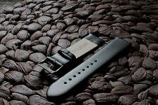 Echt Leder Uhren Armband 16, 18, 20, 22, 24mm Ersatz-Armband mit Federsteg Neu