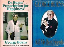 All My Best Friends & Dr. Burns' Prescription for Happiness Lot of 2 Books HB DJ