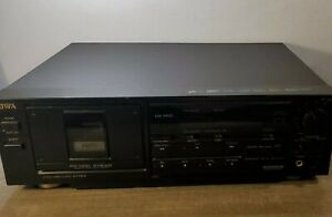 Aiwa AD-F800 PC-OCC 3 Head Dolby HX Pro Stereo Cassette Deck Tested & Working