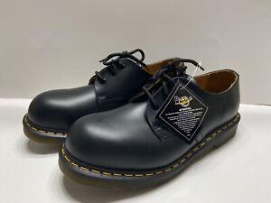 Dr. Martens Airwair 1925 5400 Steel Toe Mens Oxford Derby Shoes Size 9 Black