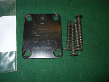 1980s Westone dimension IV electra / Ibanez  mij 3  Neck Plate w' 4 Screws