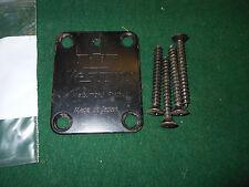 1980s Westone dimension IV electra / Ibanez  mij 3  Neck Plate w' 4 Screws
