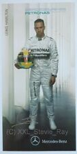 Lewis Hamilton - Racing Card Photo Mercedes Formula 1 F1 *CHAMPION*