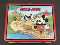 Mickey Mouse Lunch Box- 1996- Disney