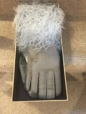 BNIB - STUNNING UGG LONG PILE SHEARLING CUFF GLOVES - ELBOW LENGTH