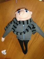 """Offical Despicable Me 2 Gru Soft Plush Toy 18"""" - USED VGC"""