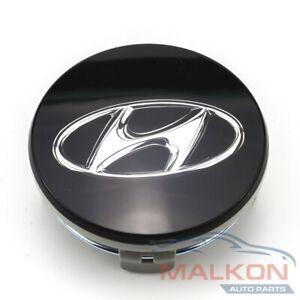 GENUINE WHEEL CENTER HUB CAP BLACK FOR HYUNDAI SANTA FE TUCSON I30 529603S110