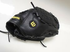 """Baseball Glove Wilson Youth Quick Fit 11"""" - Black/Gray"""