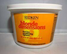 REDKEN Blonde Dimensions DUST FREE Conditioning Lightener - 8 oz.