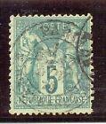 FRANCIA YT 1876-78 Nº64 USADO