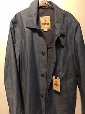 mens jacket  Jacket brand new Harrington Rain Mac 48 Blue Trench