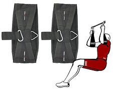 SENSHI Giappone ® Universal ADDOMINALI brache (COPPIA) AB brache Cinturini CHIN UP BAR GYM
