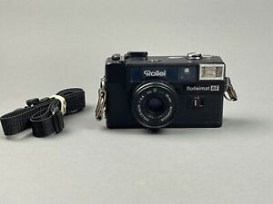 Rollei Rolleimat AF-M Camera In Box w/Case & Manual Untested